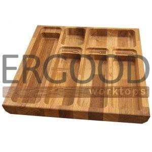 Лотки для столовых приборов из дерева